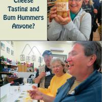 "Stopping at the South Coast Cheese Factory in Tilba, Marge discovers ""Bum Hummers"" while Carolyn, Leann and Matt sample the cheese."