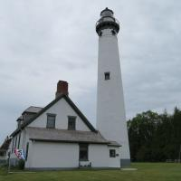 New Presque Isle replaced the old light to provide a light more than 20 miles into Lake Huron.