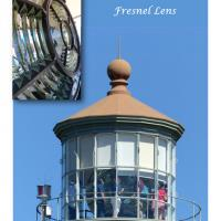 The treat which awaits you after hiking the 107 foot tower is seeing the beautiful 3rd Order Clamshell Fresnel lens