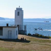 Brown's Point Lighthouse in Tacoma