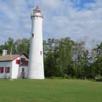 On another beautiful day, we arrived at Sturgeon Point Lighthouse.  Many climbed the 97 steps up the ladder to view Lake Huron.