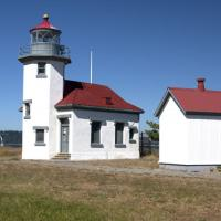 Point Robinson Lighthouse on Vashon/Maury Island in Puget Sound