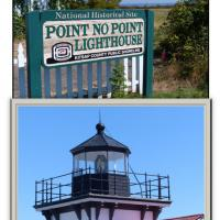 Point No Point Lighthouse in Hansville has its 4th Order Fresnel Lens in the lantern