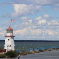 Cheboygan Crib Lighthouse and Range