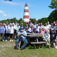 Group photo at Georgia's Sapelo Island Lighthouse