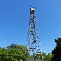 The 100 foot McClellanville Fire Tower was staffed by the South Carolina Forestry Commission for 70 years.
