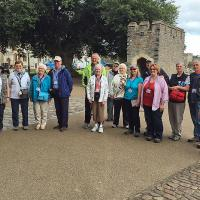 Group 1 photo at Cardiff Castle tour