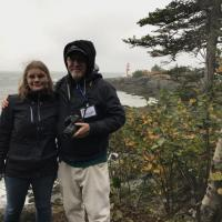 Cassandra and Jeremy at East Quoddy Head