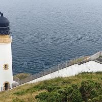 Maughold Head Lighthouse is on the eastern most point of the Isle of Man and the closest point to England (31 miles)