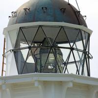 Katiki Point lens and lantern room