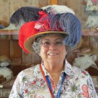Laurel sports her new hat