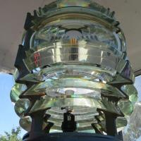 3 ½ order Fresnel lens on display