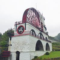 The Laxey Wheel is an impressive piece of Victorian engineering and the world's largest working waterwheel.
