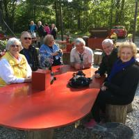 Joan, Larry, Jerry, Randy, Karl & Claire at The Place