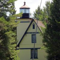 Mendota Lighthouse is privately owned and the original fourth-order, Henry-Lepaute lens was located and restored to the lighthouse.