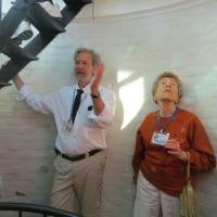 Don Terras coordinated our visit and was our docent