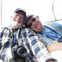 """Al and Allan become """"fast"""" friends during a boat ride."""