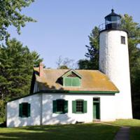 2010 picture of Old Michigan Lighthouse.