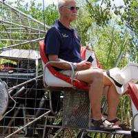 Jerry in the Air Boat