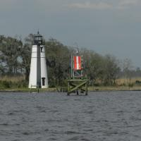 Tchefuncte River Range Lights