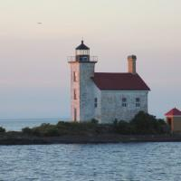 Gull Rock Lightkeepers have begun repairing the lighthouse and are hoping for continued grants to continue the restoration.