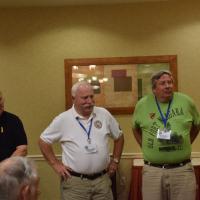 """Steve, Brian and John along with Vern were our faithful """"bag boys"""""""
