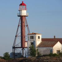 Manitou Island is owned by Keweenaw Land Trust and have opened the island to kayaking, bird watching and rock collecting.  The lighthouse is being restored as funds become available.