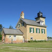 Ontonagon Historical Society maintains the Ontonagon Lighthouse and museum where the original fourth-order Fresnel lens can be seen.