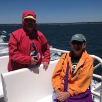 Amy & Carlene enjoying the cruise