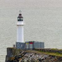 Barry Docks Breakwater light