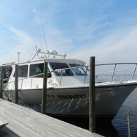 Our boat to Cedar Key