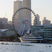 A trip to Navy Pier isn't complete without a ride on the Ferris Wheel