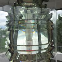 Lens at Concord Point Lighthouse