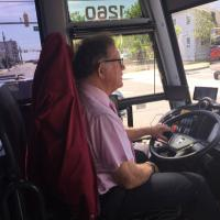 Chuck the bus driver