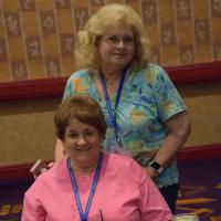 Ruth Floyd and Norma Bell