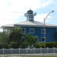 Tampa Bay Watch Lighthouse also known as the Tierra Verde Lighthouse