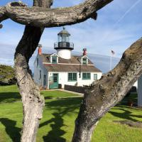 Point Pinos Lighthouse from a different view