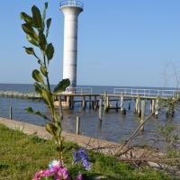 Broadwater Beach Marina Lighthouse