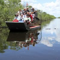 Boat 2 in the Everglades