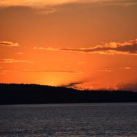 The sun sets on our Upper Peninsula Michigan tour.  A beautiful ending to a wonderful trip.