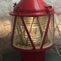 Lens on display at Pinos Point Lighthouse