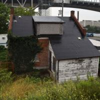 The keeper's house is in the process of renovation by Beach Canal Lighthouse Group