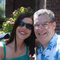 Luiza and Larry at Domain Wintergarden
