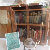One of the remaining lighthouse libraries and the only one with original books