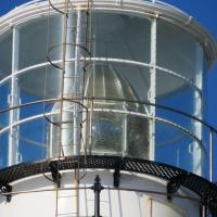 Lens at Seal Point Lighthouse