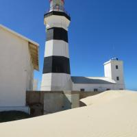 Cape Recife Lighthouse - Dunes taking over