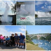 Niagara Falls proved to be a highlight including a ride on Hornblower into the falls!
