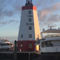 Faro Blancas Harbor Lighthouse