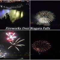 The fireworks were enjoyed by all from Embassy Suites windows