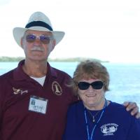 Jerry and Marjie on Robbie's Marina Boat